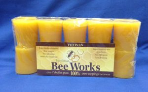 BeesWax Candles Votives 10 pack