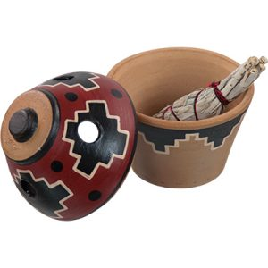 Smudges Ceramic Smudge Pot 44000