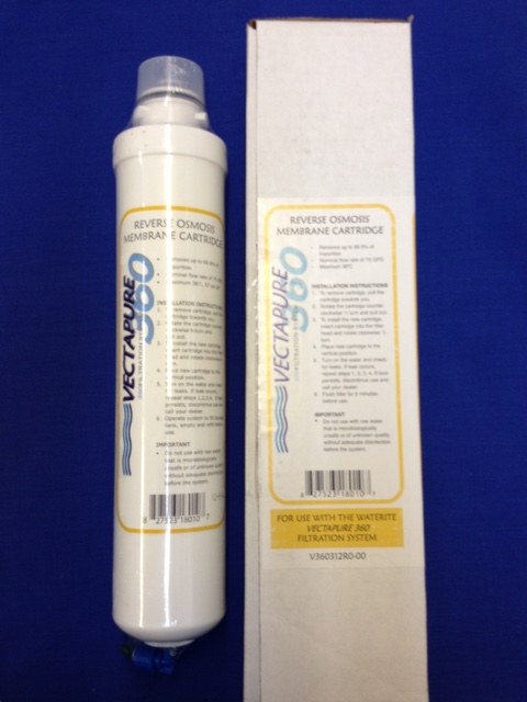 Filter Vectapure 360 Yellow Replacement Membrane, 75 GPD
