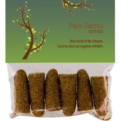 Incense Palo Santo Wood - 6 cones