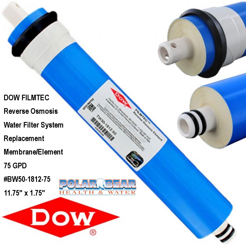 Filter Membrane Filmtec 75 GPD