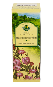Herbaria Small Flowers Willow Herb 25 tea bags