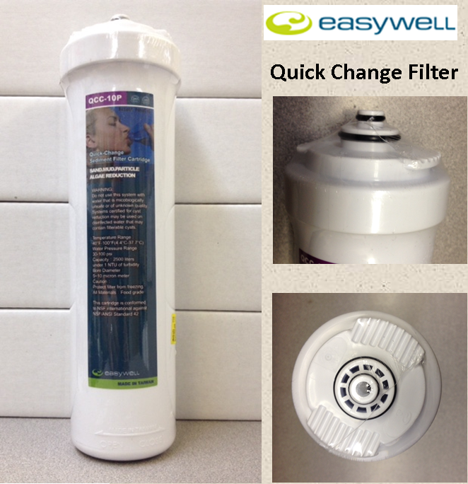 Filter Easywell QCC-10P 10 Micron Spun