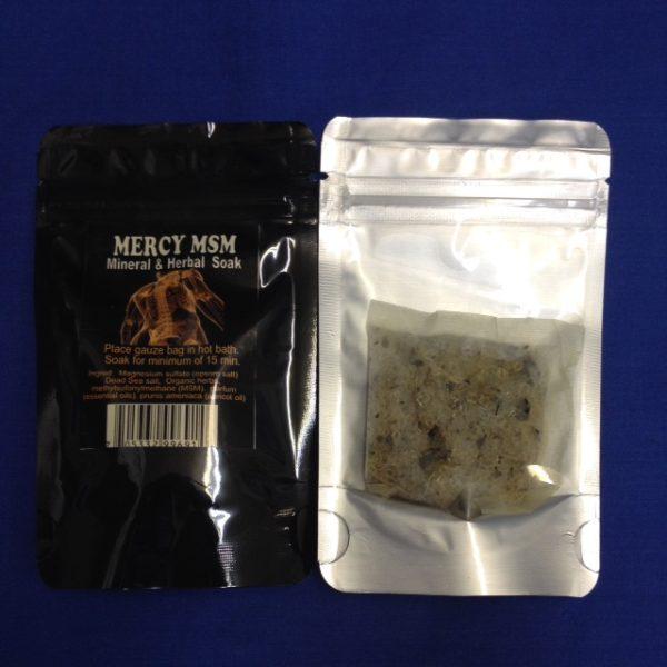 Cloud 9 Mercy MSM Soak 1 Bath packet