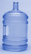 Bottle Polycarbonate - 19 L / 5 gal