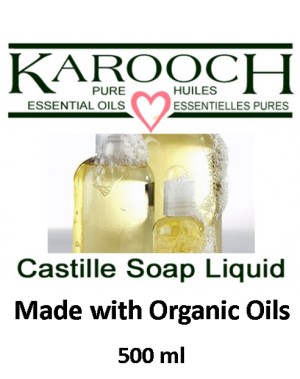 Karooch Castille Liquid Soap 500 ml