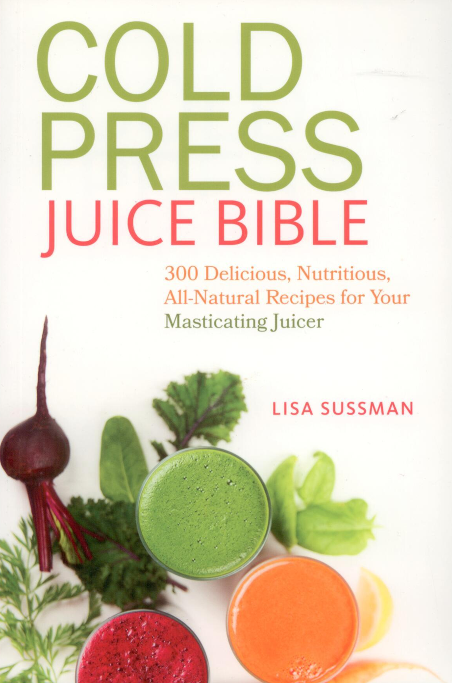 Book Cold Press Juice Bible Sussman
