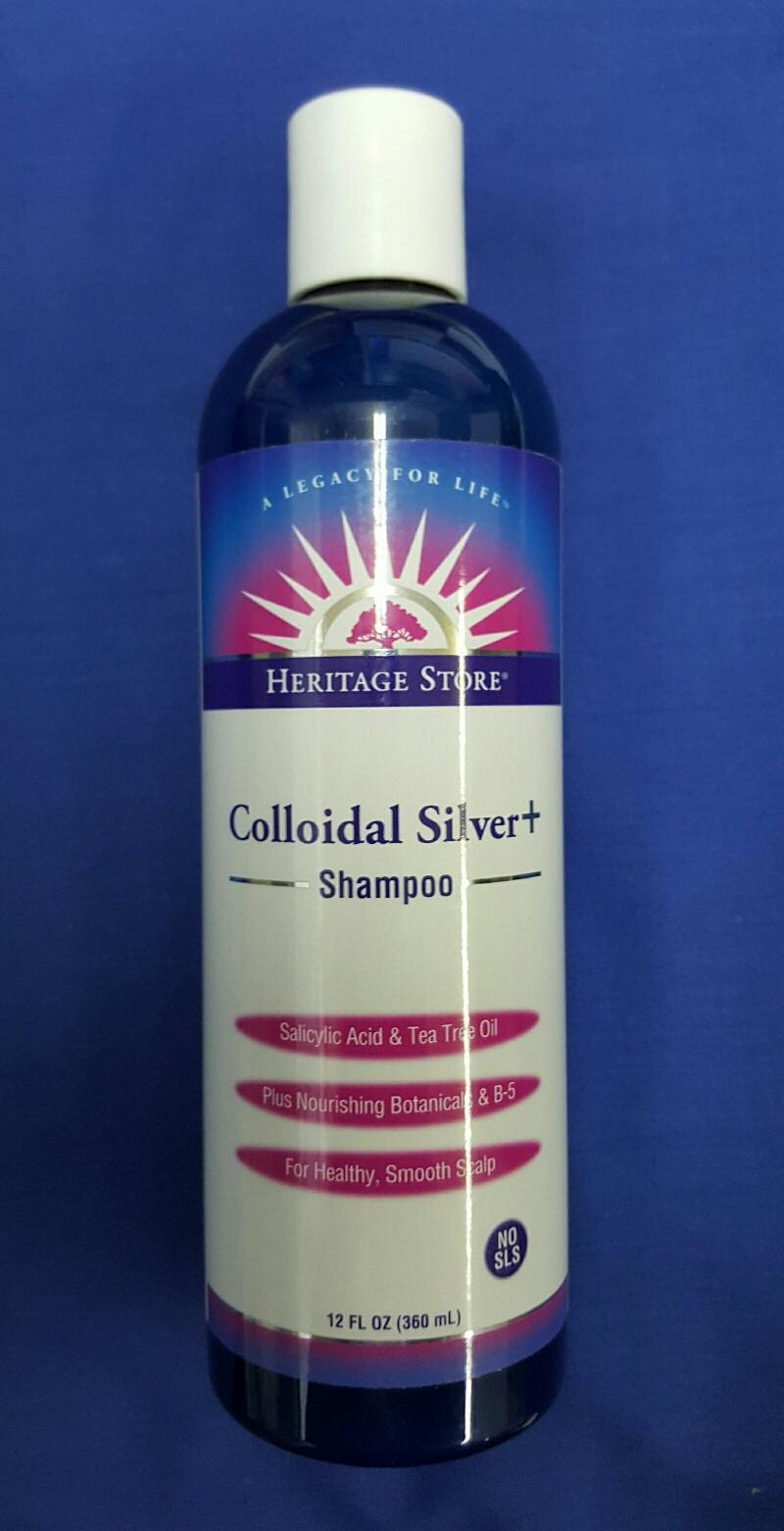 Colloidal Silver Shampoo 360 ml