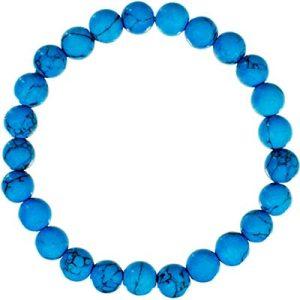Gemstone Bracelet Reconstituted Turquoise