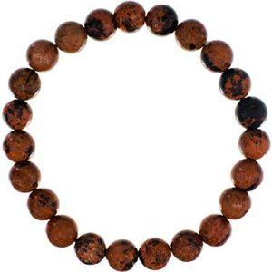 Gemstone Bracelet Mahogany Obsidian