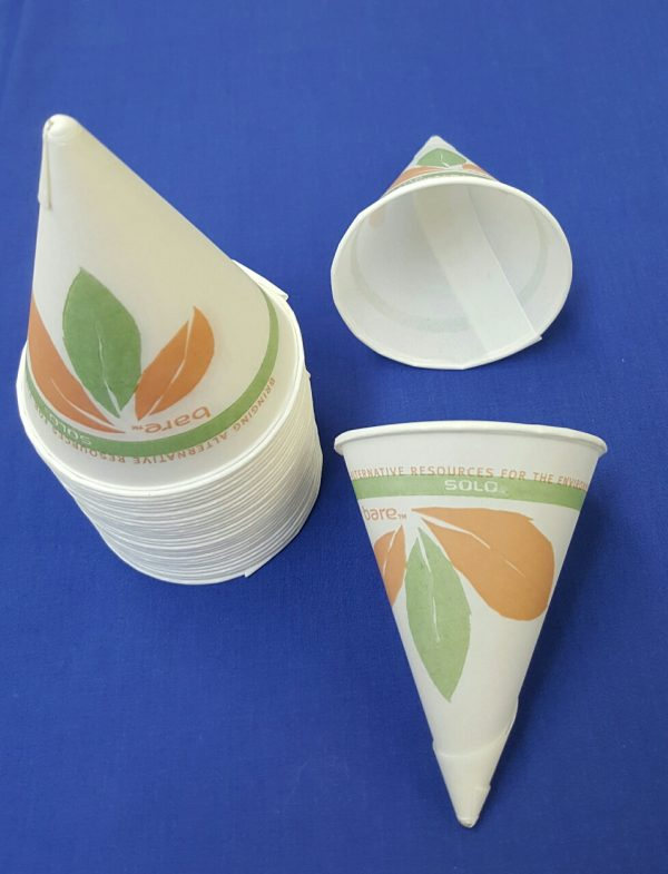 Cone Water Cups 4 oz pk200
