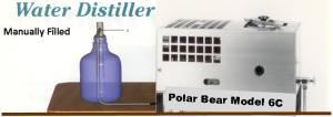 Polar Bear Water Distiller Model 6C