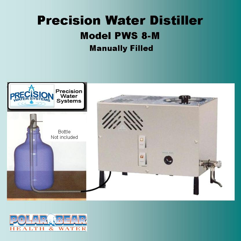 Water Distiller Manual ~ Precisioin pure water distiller model pws m polar
