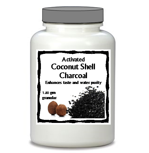 Coconut Charcoal Carbon XLarge Jar