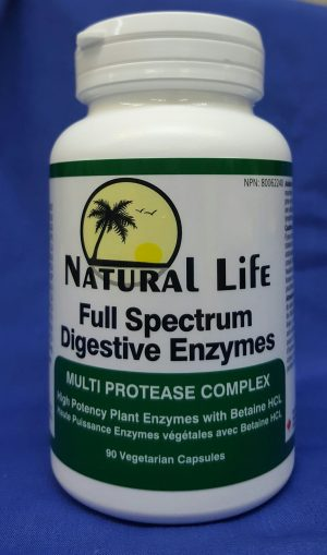 Full Spectrum Digestive Enzymes - Natural Life