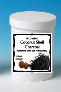 Coconut Charcoal Carbon - Small jar #500107