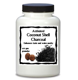 Coconut Charcoal Carbon Large Jar - #500107