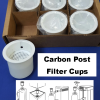 Charcoal Filter Cup 6 pack