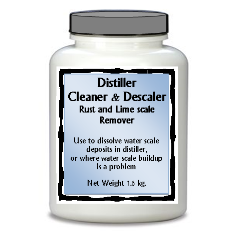 Cleaner and Descaler Lg Jar