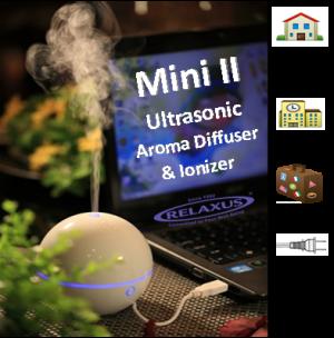 Mini Desktop Diffuser & Ionizer Relaxus