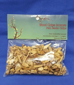 Incense Palo Santo Wood Chips 1 oz