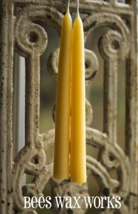 BeesWax Candle Classic Taper 8
