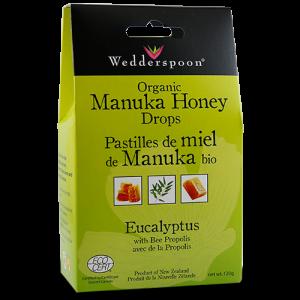 Wedderspoon Manuka Honey Drops Eucalyptus