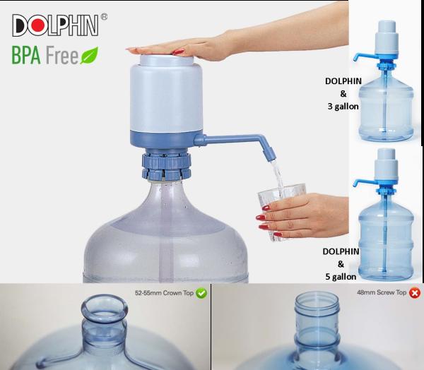Pump Dolphin Bottle BPA Free