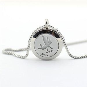 Aroma Necklace Tinker Bell - Stainless Steel - Youth