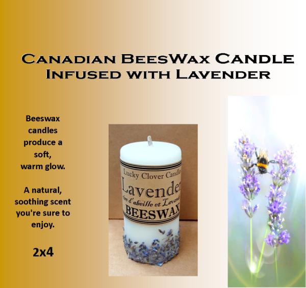 Candles Lavender 2×4