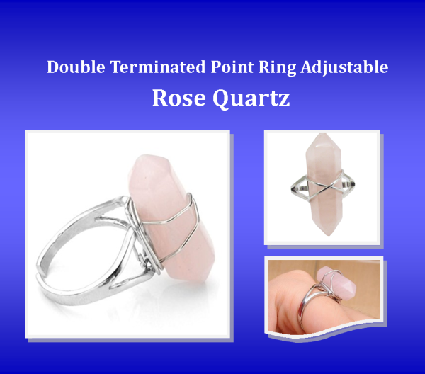 Ring NE Rose Quartz