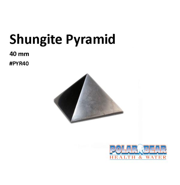 Shungite Pyramid 40
