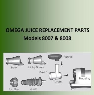 Parts Omega 8007/8008
