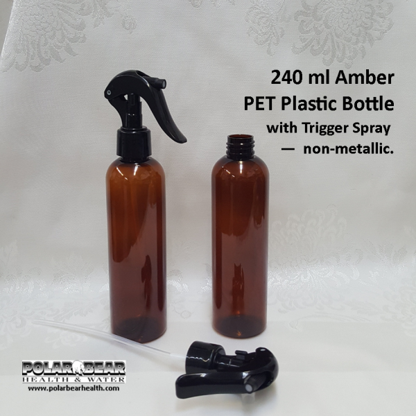 240 ml PET Amber T spray
