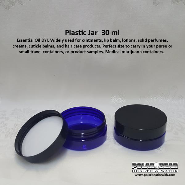 jar 30 ml plastic low