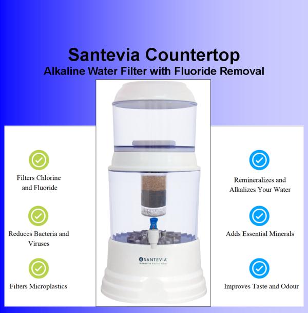 Santevia Flouride Counter top