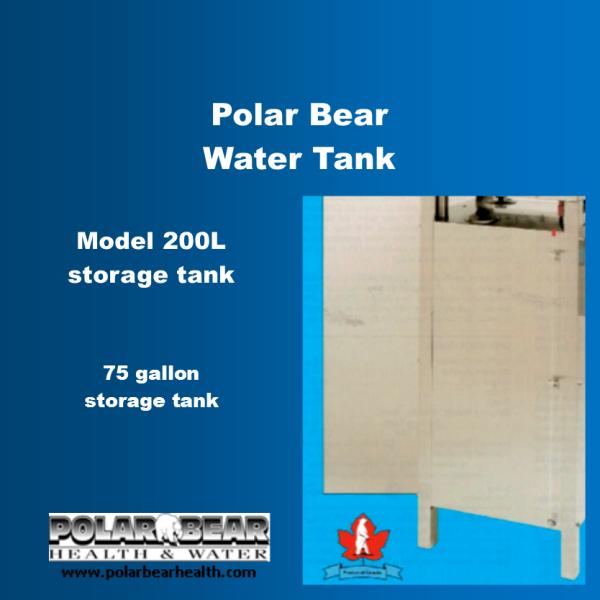 200-L storage tank