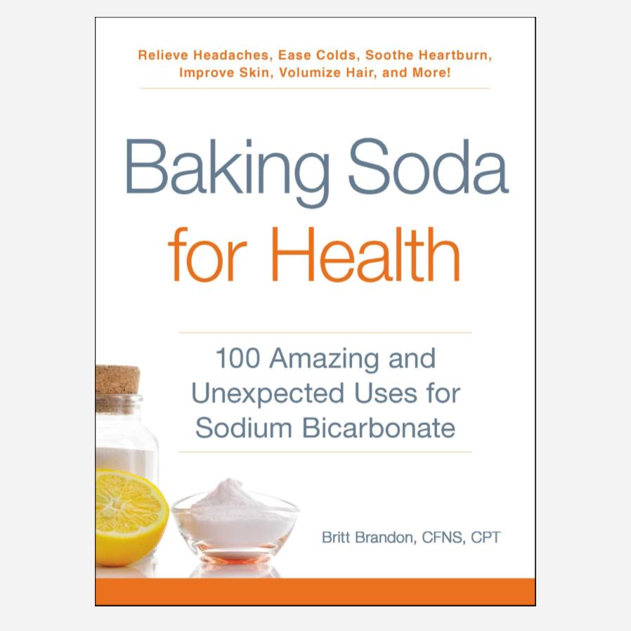 Baking Soda For Health by Britt Brandon Book