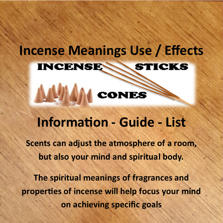 Incense Meanings Use / Effects - Informative Guide - Polar