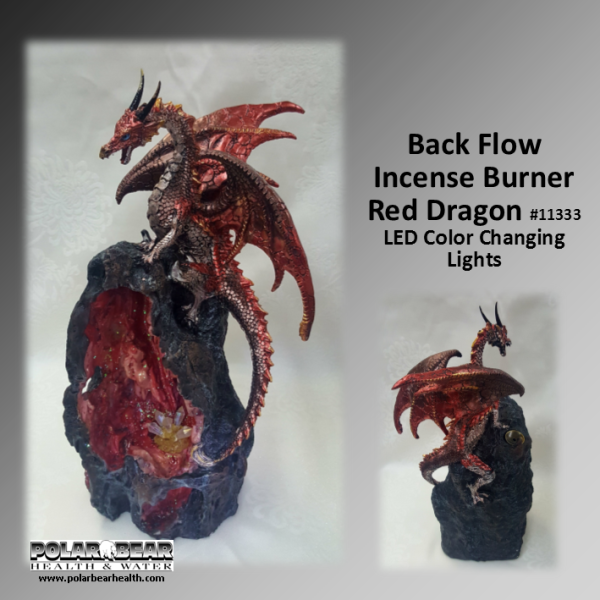 Backflow Dragon LED Red