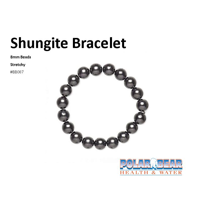 Gemstone Bracelet Shungite 8mm