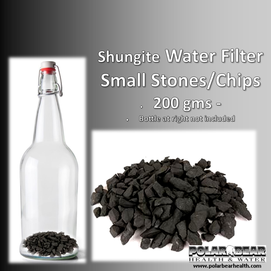Shungite Water Filter Small Stones - 200 gms