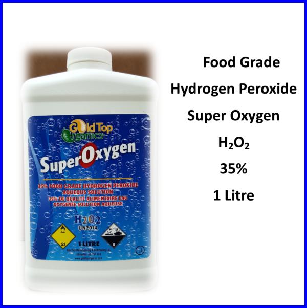Hydrogen Peroxide 35 1 liter