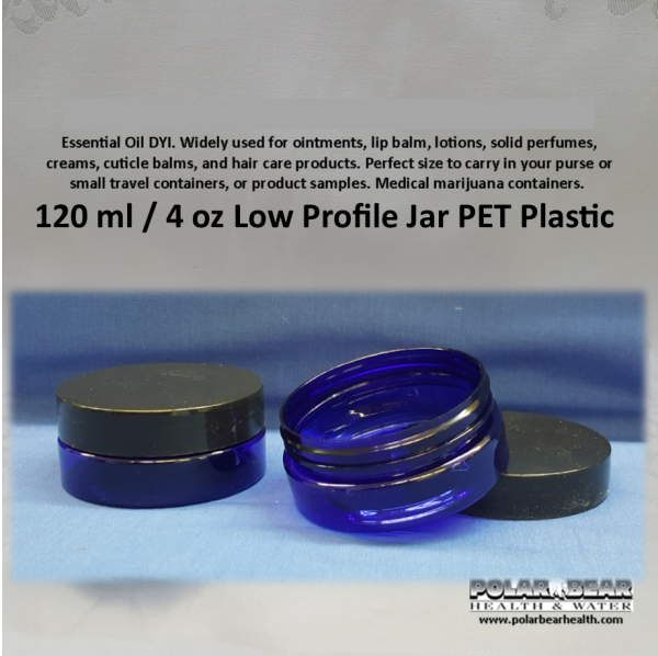 Jar 120ml plastic Low