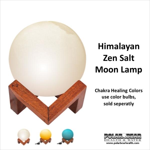 Lamp Zen Salt Moon