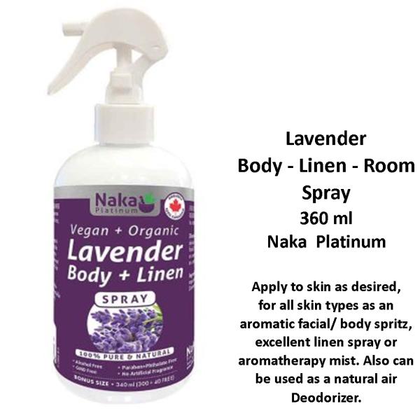Lavender Body Room Spray