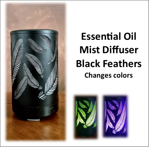 Diffuser Black Feathers