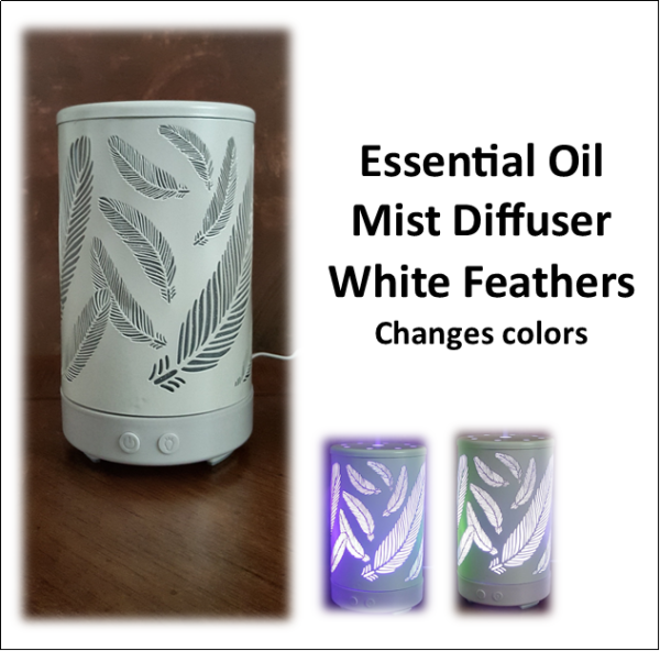 Diffuser White Feathers