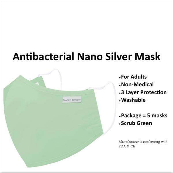 NanoSilverMask Green
