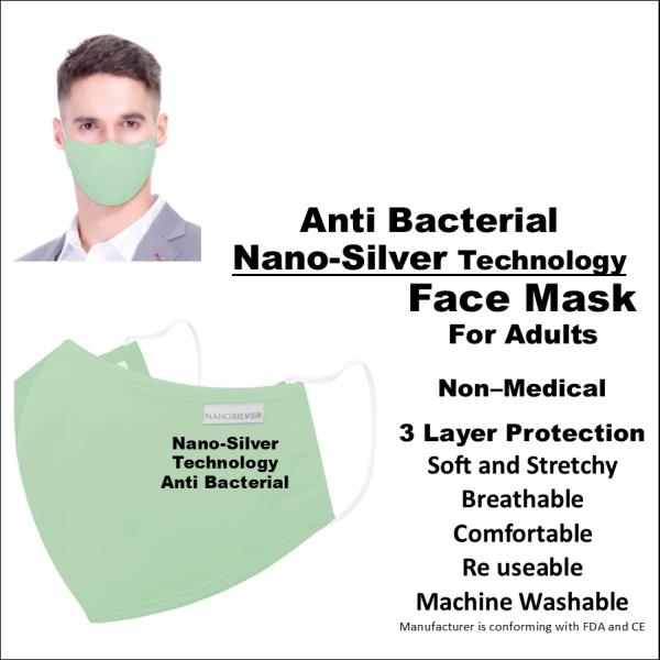 NanoSilverMaskGreen
